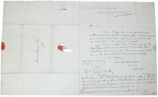 Autograph Letter Signed. Sir Walter Scott
