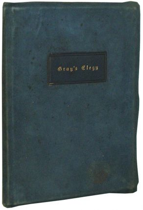 Gray's Elegy. Thomas Gray.