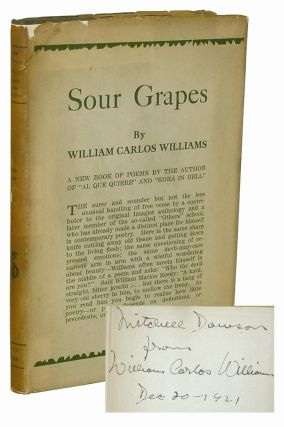 Sour Grapes. William Carlos Williams.