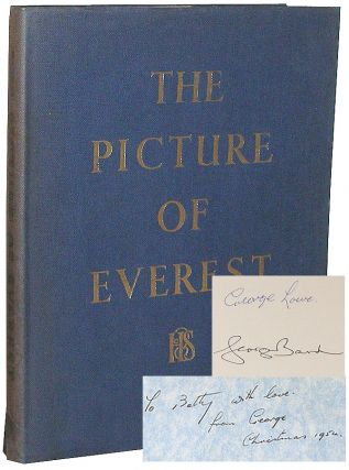 The Picture of Everest: A Book of Full-Color Reproductions of the Everest Scene. Alfred Gregory, George Lowe.