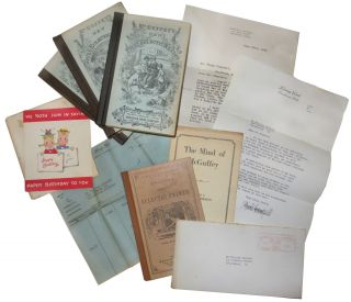 Small archive containing a set of McGuffey Readers and related correspondence. Henry Ford,...
