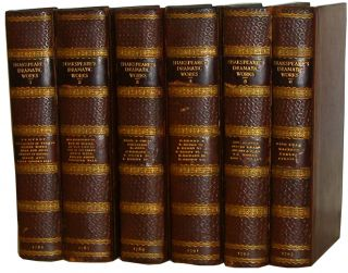 The Dramatic Works of Shakespeare, in Six Volumes; With Notes By Joseph Rann, A.M., Vicar of St. Trinity, in Coventry. William Shakespeare.
