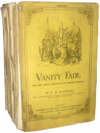 Parts I-XVIII of Vanity Fair. William Makepeace Thackeray