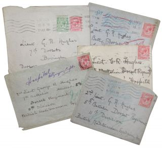 Group of letters six addressed to a British Soldier