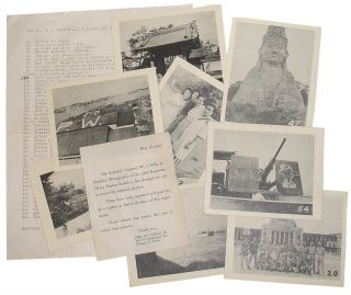 Set No. 5 - Convoy and Japanese Pictures: 53 Photographic Reproductions from WWII. Will J. Mills, 556 Engineers.