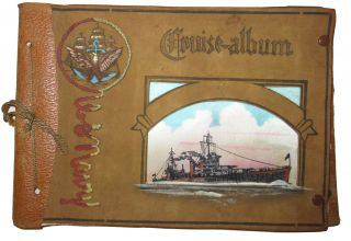 Cruise Album: A collection of 49 original photographs of members of the U.S. Navy and related...